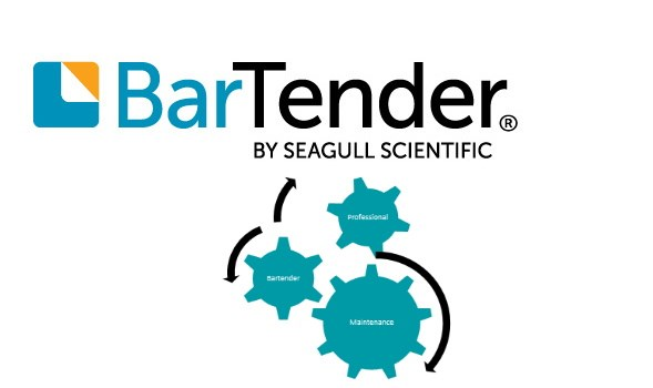 Afbeelding van BarTender Professional - Application License - Standard Maintenance and Support (Per Month)