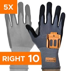 Afbeelding van Standard 5 Pairs Pack - Right Hand Size 10