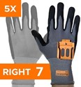 Afbeelding van Standard 5 Pairs Pack - Right Hand Size 7