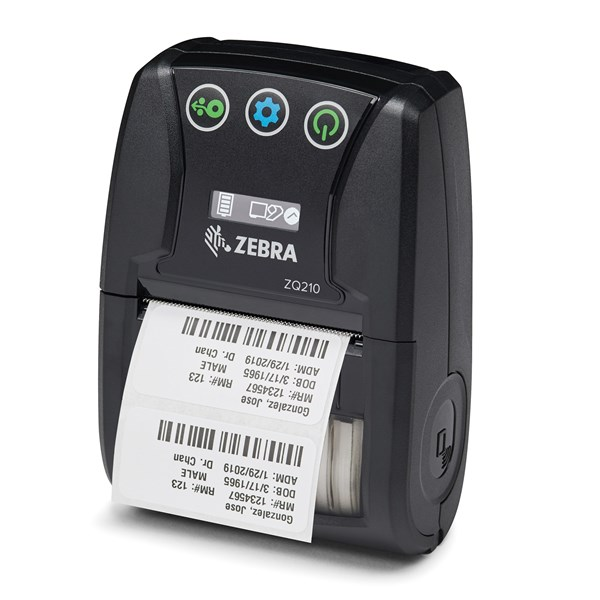 Afbeelding van Zebra ZQ210 Direct Thermal Mobile Printer