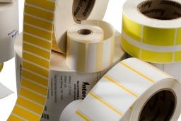 Afbeelding van Duratran I Thermal Transfer Paper Label - Permanent Adhesive - 43mm x 24.79mm - Labels per Roll: 370